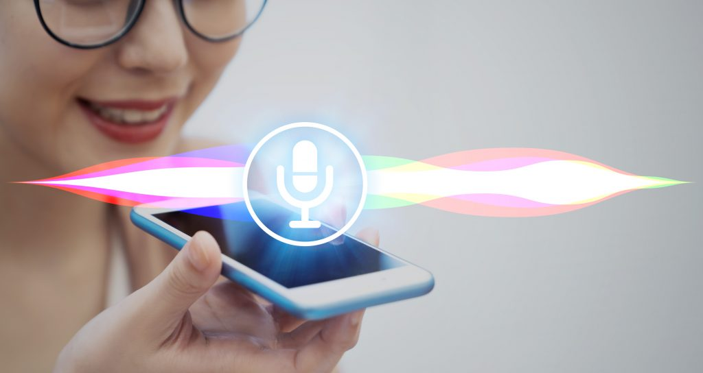 voice search in home builder