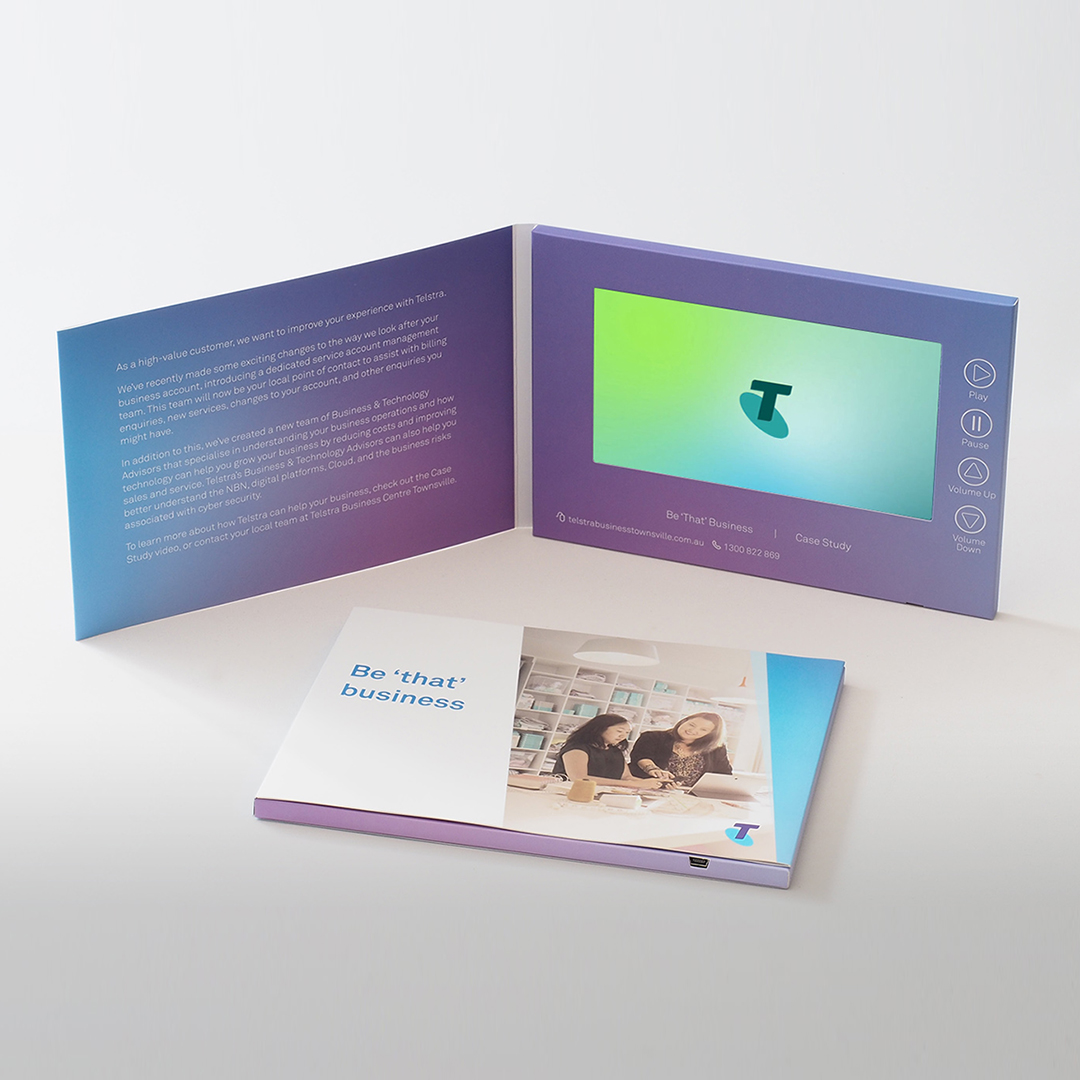 video brochure example for home builders