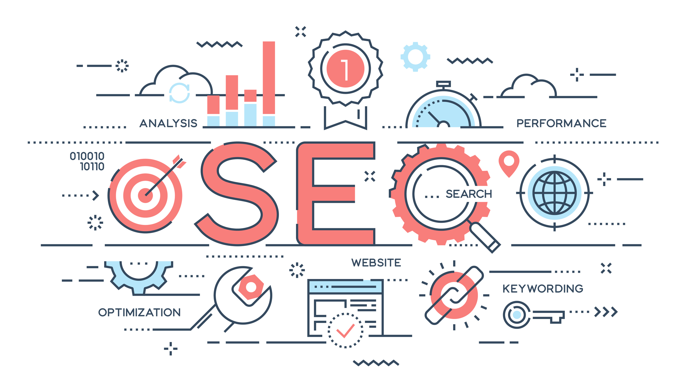 representing Powerful SEO Tips